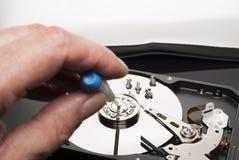 Hard drive fix Royalty Free Stock Image