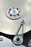 Hard drive fragment Royalty Free Stock Images