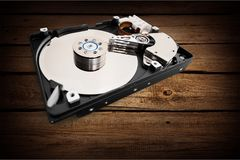 Hard drive. Drive violence computer toughness disk backup royalty free stock images