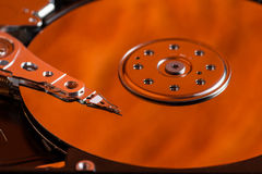 Hard drive hdd digital multimedia electronics Royalty Free Stock Image