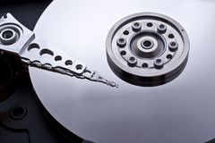 Hard drive inside details Stock Photography