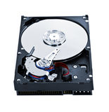 Hard drive insides Stock Images