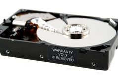 Hard drive interior Stock Photography