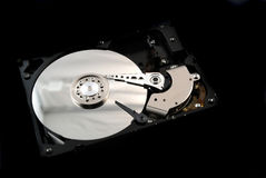 Hard drive interior Royalty Free Stock Image