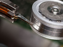 Hard Drive Interior Parts Royalty Free Stock Photography