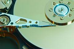 Hard drive internal Stock Photography