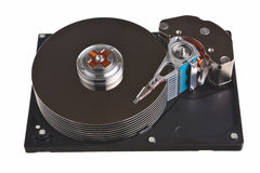 Hard drive internal parts. Stock Photography
