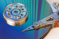 Free Hard Drive Internals Royalty Free Stock Image - 17740446
