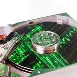 Hard drive internals Royalty Free Stock Photos