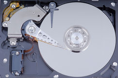 Hard drive internals Stock Photography