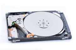Hard drive internals Royalty Free Stock Images
