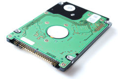Hard drive for laptop on white background Royalty Free Stock Image