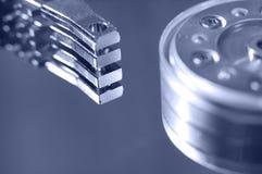 Hard drive, macro Stock Photos