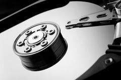 Hard drive macro image Stock Image