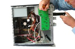 Hard Drive Replacement Stock Images