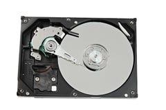 Hard drive on white backgroun. Royalty Free Stock Photos