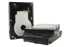 Hard drives (hdd) stock photography