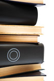 Hard drives, and old books Royalty Free Stock Photos