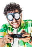 Hard gaming Stock Images