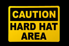 Hard Hat Area Stock Photography