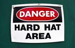 Hard Hat Area. Stock Image