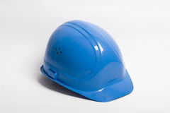 Hard hat - builder essential tool. Safety-gear on white, Hard hat - builder essential tool stock images