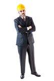 Hard Hat Businessman Royalty Free Stock Image