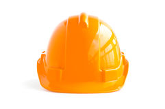 Hard hat for industrial workers, engineers & architect Stock Photography
