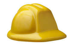Hard Hat Protection Safety Isolated Stock Image