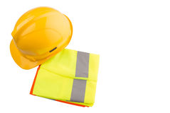 Hard Hat And Reflective Vest IV Royalty Free Stock Images