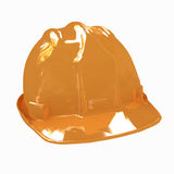 Hard hat  on white background Stock Photography
