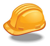 Hard Hat  yellow Stock Images