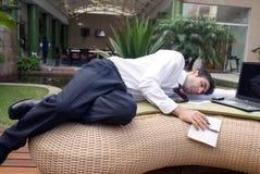 Hard het werken? Stock Fotografie