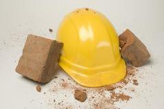 Hard hoed-01 Stock Foto's