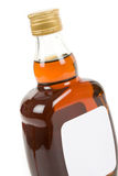 Hard Liquor Bottle Royalty Free Stock Photo