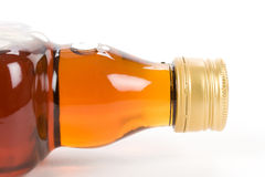 Hard Liquor Bottle. With white background Royalty Free Stock Image