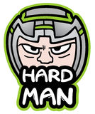 Hard man Stock Photo