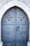 Hard metal door Stock Image