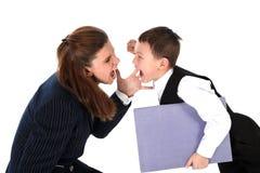Hard relationship Stock Image