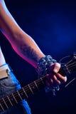 Hard rock Photographie stock