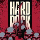 Hard rock ilustracja wektor