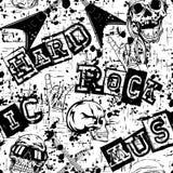 Hard_rock_background 免版税图库摄影