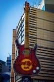 Hard Rock Cafe à Varsovie, Pologne photos libres de droits