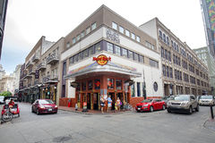 Hard Rock Cafe на французском квартале Hyatt Стоковое фото RF