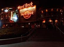 Hard Rock Cafe размещало на всеобщем городе в Орландо, Флориде Стоковое Изображение