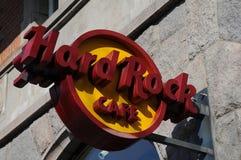 Hard Rock Cafe Стоковая Фотография
