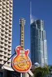 Hard Rock Cafe royalty free stock photos