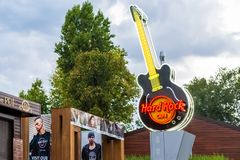 Hard Rock Cafe stockfoto