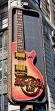 Hard Rock Cafe. Times Square in Manhattan. Photo taken on April 09th2011 Stock Image