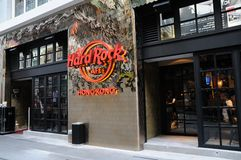 Hard Rock Cafe Stockbilder